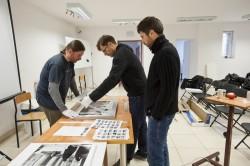 Oprawa fotografii wystawowych