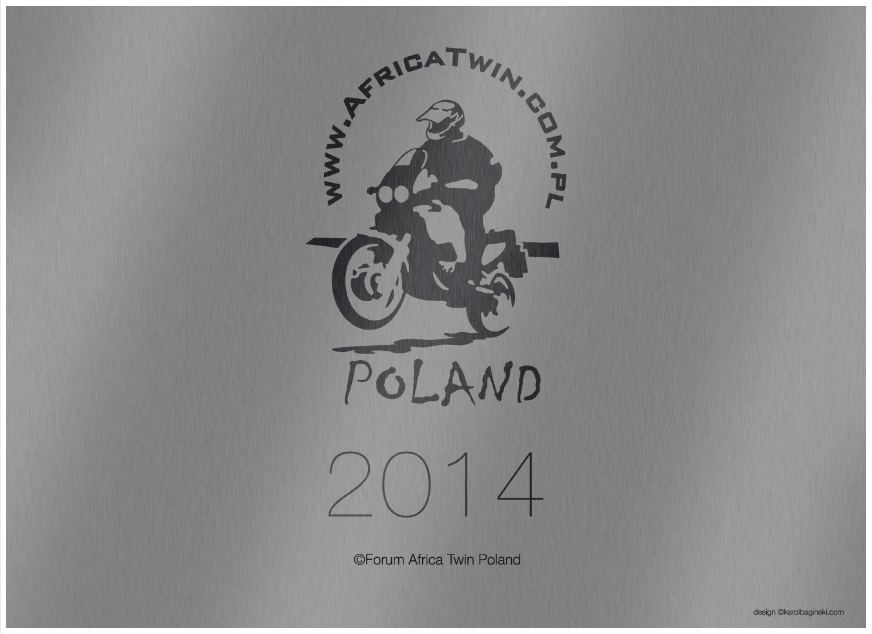 Kalendarz Africa Twin Forum Poland 2014, okładka