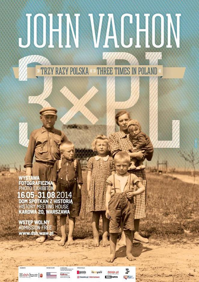 Trzy razy Polska wernisaż wystawy John Vachon