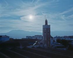 Maroko Express 2015, Meczet w najstarszej części Chefchaouen, góry Rif