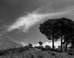 Maroko Express 2015, Chefchaouen, Góry Rif, fotografia krajobrazu, Afryka, plener fotograficzny, fotografia tradycyjna, fotografia krajobrazowa, fotografia czarno-biała