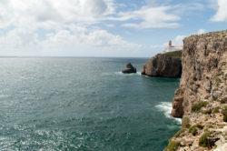 Latarnia morska, Przylądek Ciepłych Gaci, Cabo de São Vicente, Sagres, Portugal