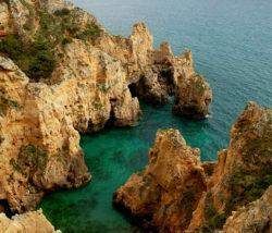 Portugal, Portugalia, Lagos, Farol da Ponta da Piedade, Portugalia wybrzeże plener fotograficzny