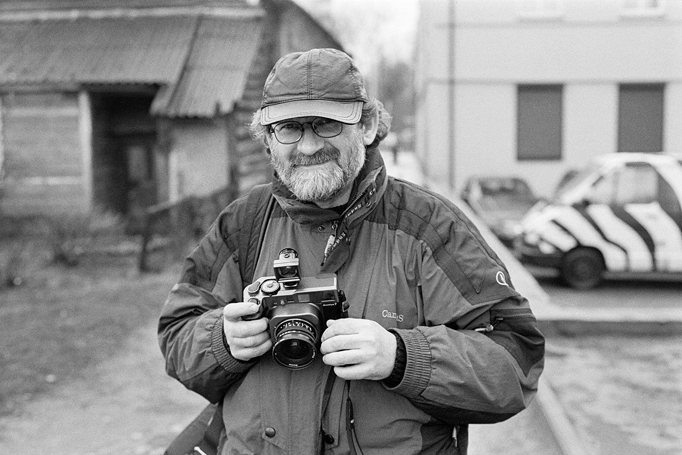 Wilno, Vilnius, Stanisław Woś, 2004, Nikon F90x, Tokina ATX 28-70/f 2.8
