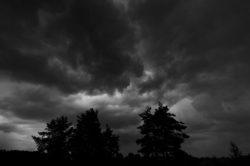 Krajobraz, landscape, burza, storm, clouds, chmury, expression, ekspresja
