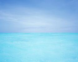 Zanzibar, przypływ na łasze piasku przy wsypie Mnembe, Mamiya 7II @Sekor N 65/f4, Fujifilm PROVIA 100F